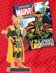 Classic Marvel Figurine Collection #037 Loki Eaglemoss Publications